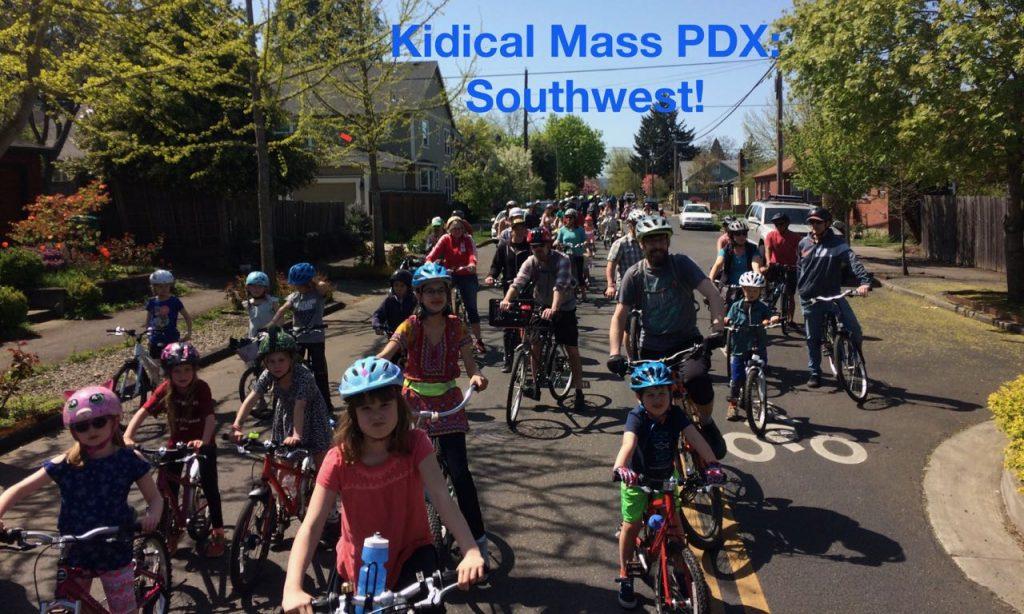Kidical Mass PDX: Southwest!